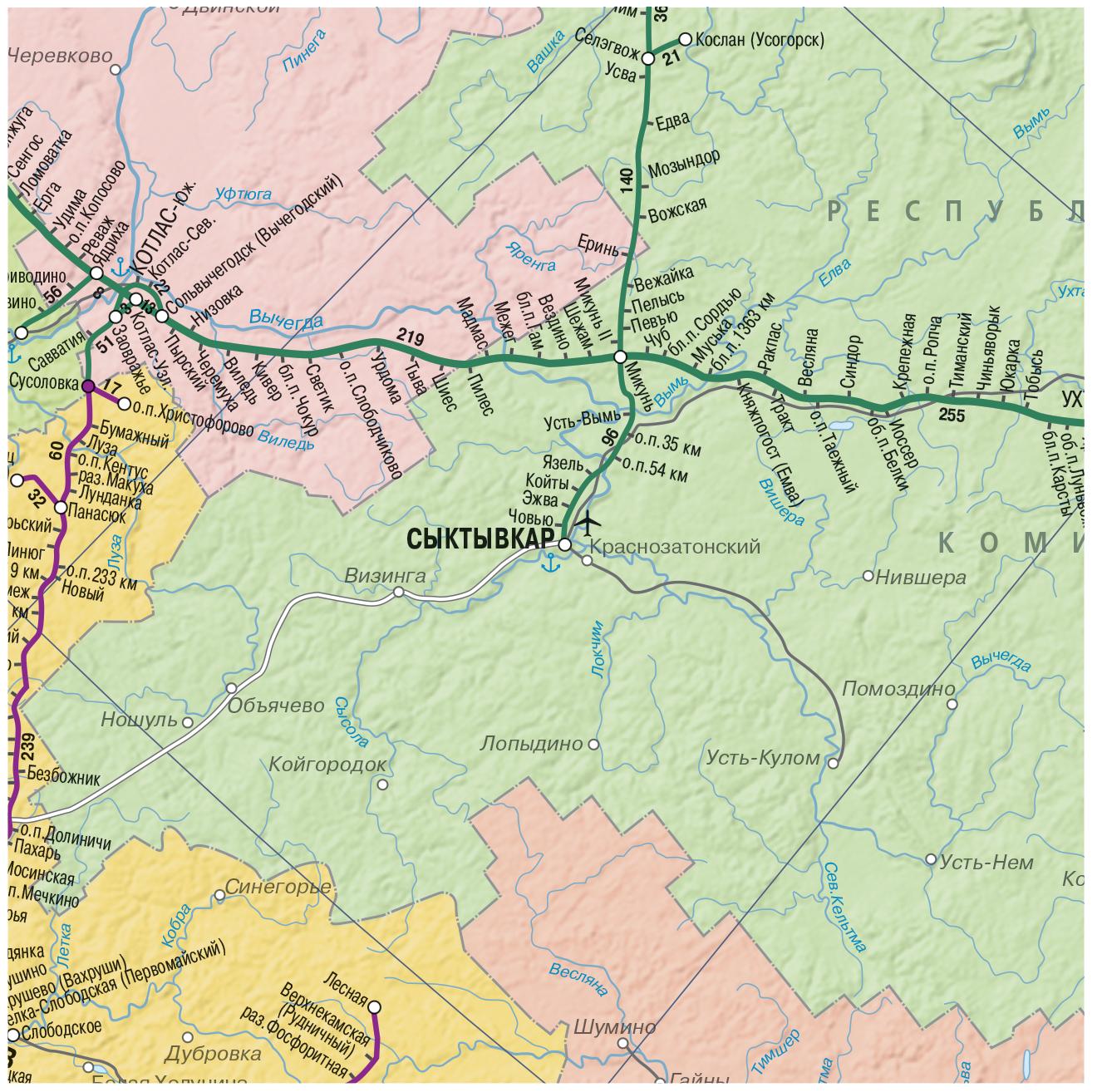 Карты транспорта