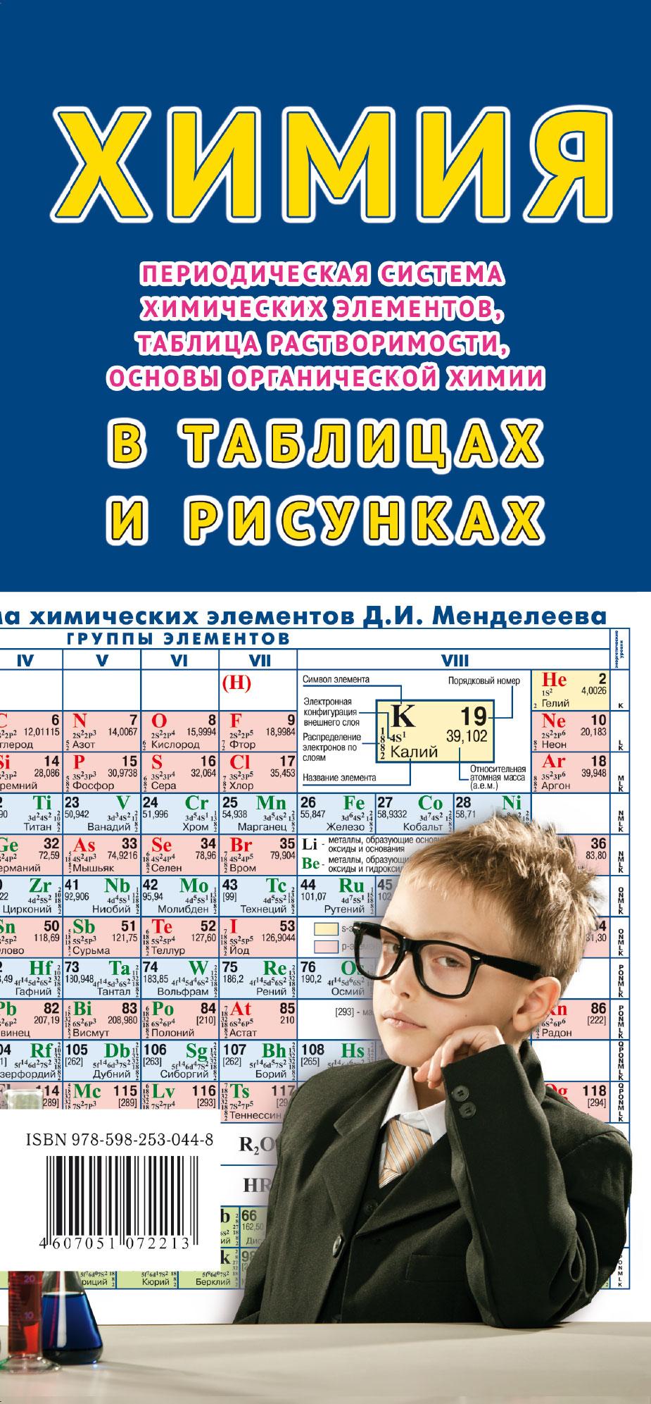 Складное справочно-информационное издание «Химия в таблицах и рисунках»