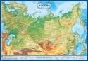 """Настенная карта России (физическая)  """"Россия""""  1,0х0,7 м"""