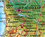 Карты городов, областей и регионов России